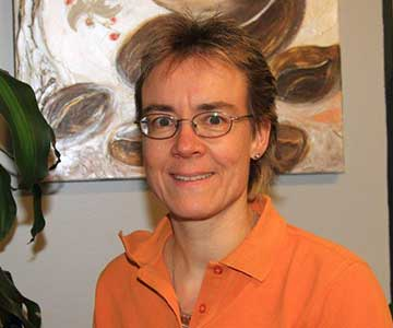 Unsere Hygiene- und Sicherheitsbeauftragte Frau Anita Höllrigl.